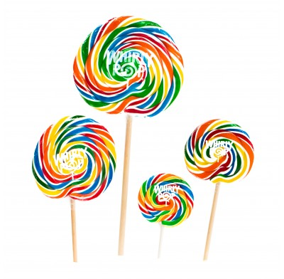 Whirly Pop Lollipops 1.5oz-3oz.-6oz.-10oz.