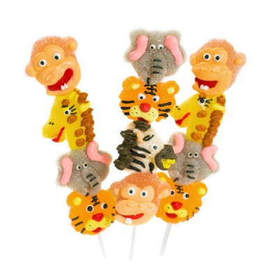 Zoo Kabobs Jelly Candy 12ct.