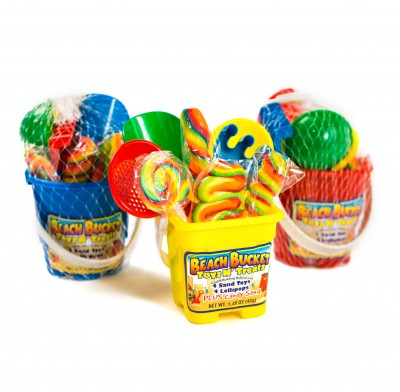 Beach Bucket Toys N' Treats 12ct.