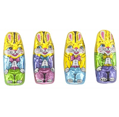 Bunnies Milk Chocolate Foil Wrapped
