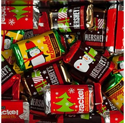 Hershey Miniatures Christmas Colors
