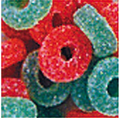 Jelly Wreaths Red & Green