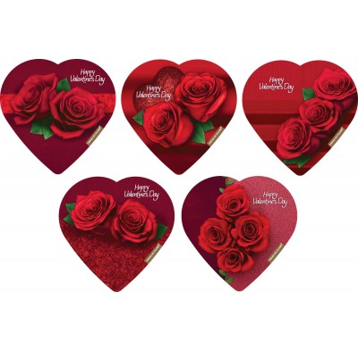 Elmer Assorted Rose Hearts 2oz