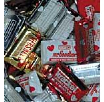 Hershey Miniatures Valentine Wrapped