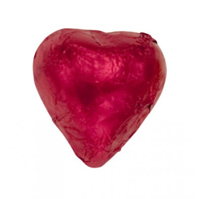 *Thompson Red Foil Milk Chocolate Hearts