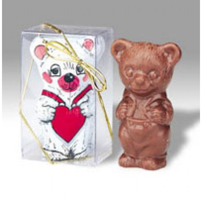 Madelaine Solid Bear With Heart