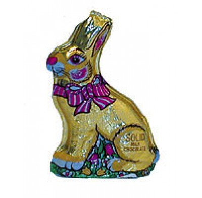 MADELAINE FOILED SITTING RABBIT 2.5oz.