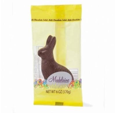 *Madelaine Sitting Rabbits Milk Chocolate 6oz.