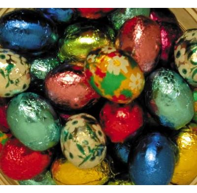 Madelaine Solid Milk Chocolate Easter Eggs