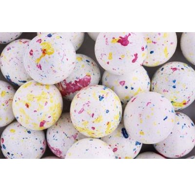 JAWBREAKERS BOULDERS SMALL WHITE SPECKLED<br /> 1 1/4 inch 400ct SIZE