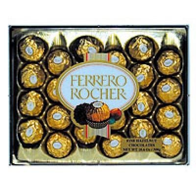 FERRERO ROCHER 24pc. 10.6oz.  GIFT BOX