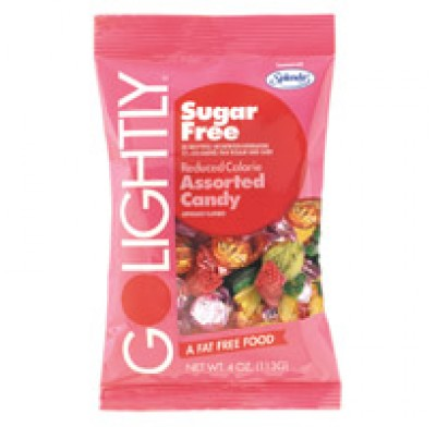 GO LIGHTLY SUGARFREE BAGS 2.75oz. ASSORTED
