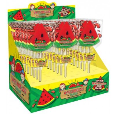 WATERMELON FARMS<BR>LOLLIPOPS 24ct.