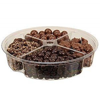 Plastic Trays 4 Section