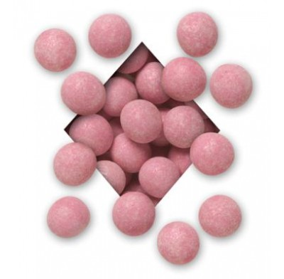 ALL NATURAL<BR>PINK MILK CHOCOLATE<BR>MALTED MILK BALLS