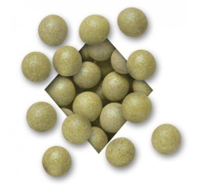 ALL NATURAL<BR>GREEN MILK CHOCOLATE<BR>MALTED MILK BALLS