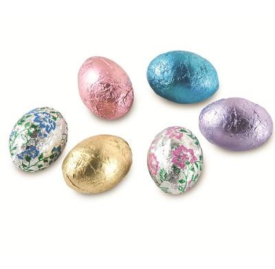 Merckens Milk Chocolate Foiled Eggs