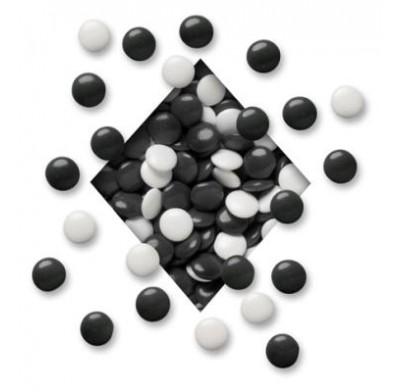 COLORWHEEL MINT LENTILS<BR>BLACK & WHITE