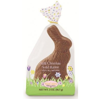 Merckens Cello Wrapped Milk Chocolate Sitting Rabbit 2oz.