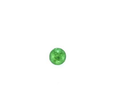 Thompson Marbles Solid Milk Chocolate Green Foil Wrapped 1 lb. Bag