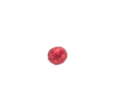 Thompson Marbles Solid Milk Chocolate Red Foil Wrapped 1 lb. Bag