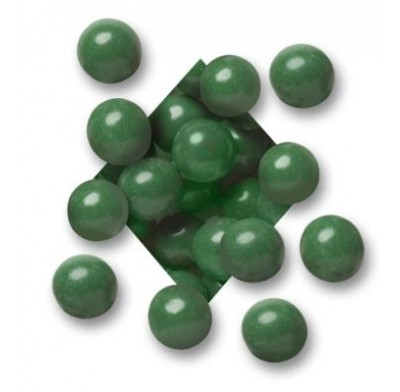 MALTED MILK BALLS<BR>DARK CHOCOLATE<BR>GREEN