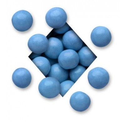MALTED MILK BALLS<BR>DARK CHOCOLATE<BR>MID BLUE