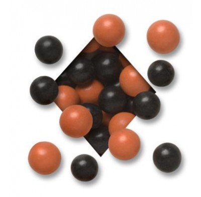MALTED MILK BALLS<BR>DARK CHOCOLATE<BR>HALLOWEEN ORANGE & BLACK