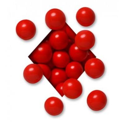 MALTED MILK BALLS<BR>MILK CHOCOLATE<BR>RED