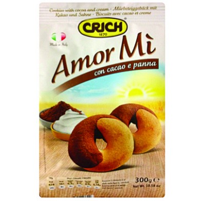 Amor Mio Chocolate and Vanilla Cookies