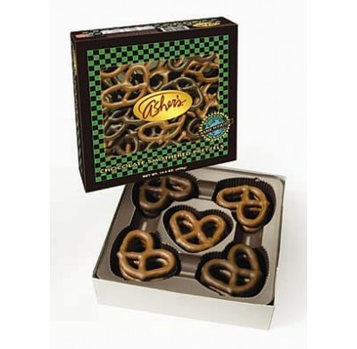 ASHER PRETZELS<br />CHOCOLATE COVERED 14.4oz.