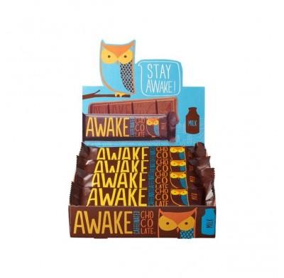 Awake Caffeinated Chocolate Bar 12ct.