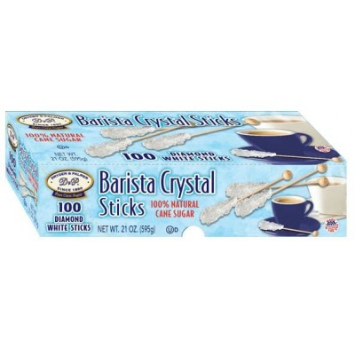 Rock Candy Demitasse (Barista) Stix White