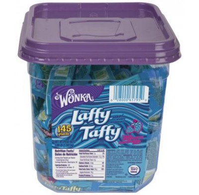 LAFFY TAFFY BLUE RASPBERRY JAR 145 COUNT