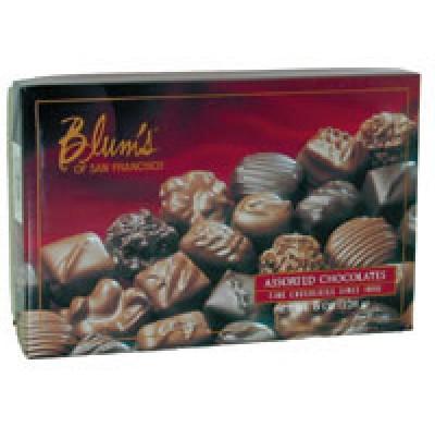 BLUM'S ASSORTED CHOCOLATES 8oz.