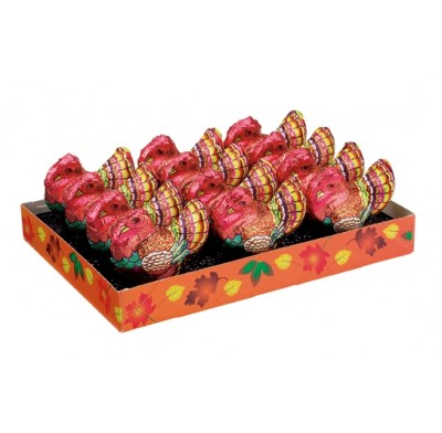 FOILED CHOCOLATE TURKEYS 2oz