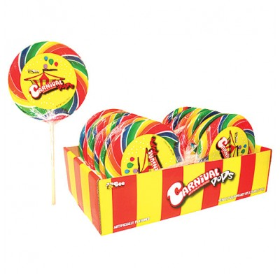 Whirly Pops Carnival 5oz.-12ct.
