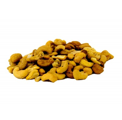 Grab 'n Go Roasted Cashews Salted 9oz.