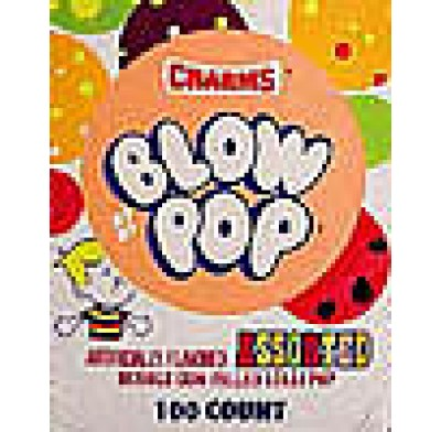 CHARMS BLOW POPS<BR>LOLLIPOP 100 COUNT