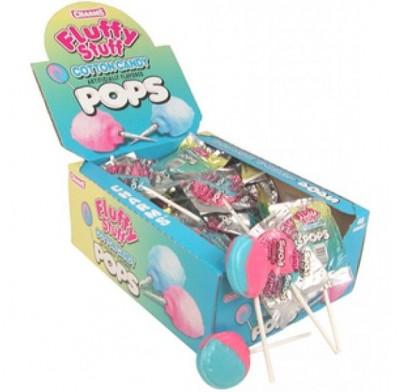 Charms Cotton Candy Lollipop 48 Count