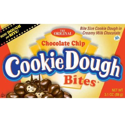 COOKIE DOUGH BITES CHOCOLATE CHIP 3.1oz.<BR>MOVIE THEATER BOX