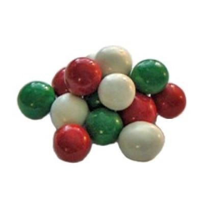 Christmas Malt Balls Red, Green & White