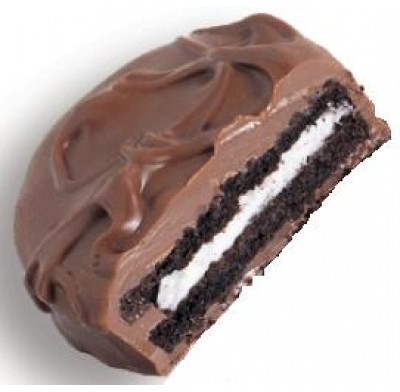OREO COOKIES<br />MILK CHOCOLATE COVERED