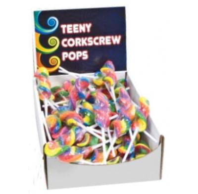 TEENY CORKSCREW POPS 96ct.