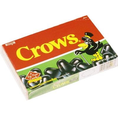 BLACK CROWS<br />7.5oz. MOVIE THEATER BOX