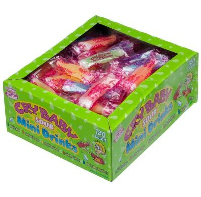 CRY BABY MINI DRINKS 120ct.