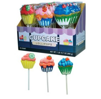 CUPCAKE LOLLIPOPS 18ct.