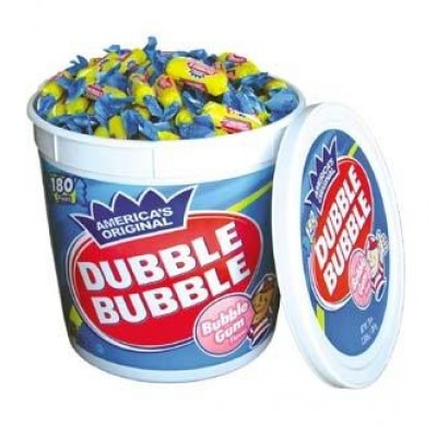 DUBBLE BUBBLE 180ct. ORIGINAL TUB