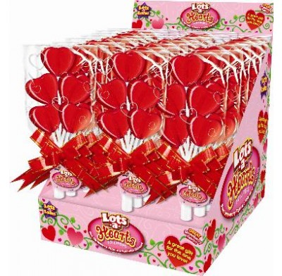 Lots A Hearts Lollipops 24ct.