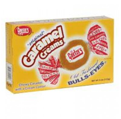 GOETZ CARAMELS<BR>MOVIE THEATER BOX 4oz.